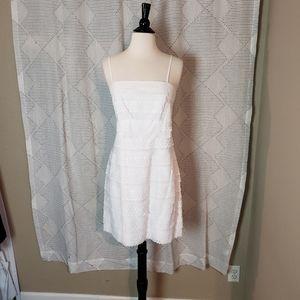 Suzi Chin for Maggy Boutique ~ White Dress ~ Sz 8
